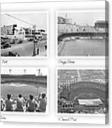 Navin Field Briggs Tiger Stadium Comerica Park Canvas Print