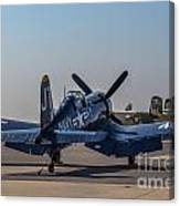 Navy Corsair Canvas Print