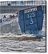 Navy Landing Craft 325 Canvas Print