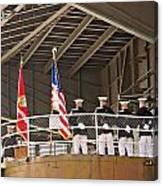 Navy Men Canvas Print