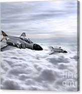 Navy Phantoms Canvas Print