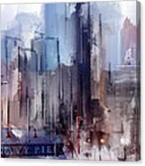 Navy Pier Blues Chicago Canvas Print