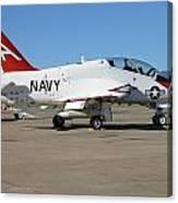 Navy T-45 Goshawk Canvas Print