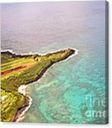 Nawiliwili Lighthouse - Aerial Canvas Print