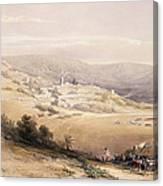 Nazareth Canvas Print