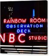 Nbc Studios Canvas Print
