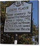 Nc-a59 Joseph Pilmoor Canvas Print