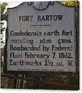 Nc-bbb2 Fort Bartow Canvas Print
