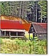 Nc Mountains Canvas Print