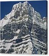 1m3645-ne Face Howse Peak-v Canvas Print