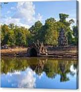 Neak Poan Temple Canvas Print