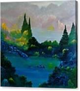 Near Coldstone Canvas Print