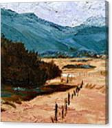 Near La Veta Canvas Print
