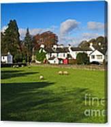 Near Sawrey In The Lake District Canvas Print