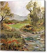 Near The River Canvas Print