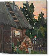 Near The Russian Bath Canvas Print