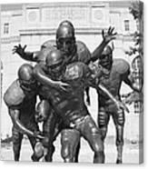 Nebraska Football Canvas Print