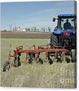 Nebraska Wheat Field Canvas Print