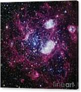 Nebula Ngc 1760, Optical Image Canvas Print
