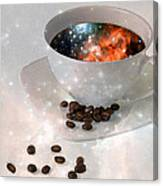 Nectar From Heaven - Coffee Art By Sharon Cummings Canvas Print