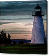 Ned's Point Light Canvas Print