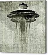 Needle On Canvas Canvas Print