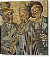 Needlepainting Musicians Canvas Print