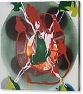 Negative Electron Flowback Chamber Canvas Print