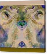 Negdogface Canvas Print