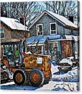 Neighbourhood Snowplough 2 Canvas Print