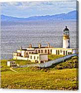 Neist Point Lighthouse Isle Of Skye Canvas Print
