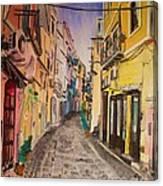 Nel Primo Pomereggio Canvas Print