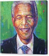 Nelson Mandela 1 Canvas Print