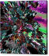 Neon Night Canvas Print