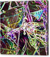 Neon Pearls Canvas Print