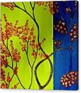 Neon Spring - 2 Canvas Print