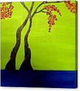 Neon Spring - 3 Canvas Print