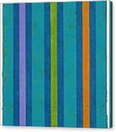 Neon Stripes IIi Canvas Print