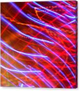 Neon Swell Canvas Print
