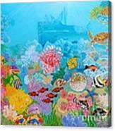 Neptune Kingdom Canvas Print