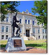Ness County Courthouse In Kansas Canvas Print