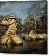Nessie Grand Rapids Darling Canvas Print