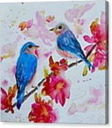 Nesting Pair Canvas Print