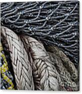 Nets And Knots Number Two Canvas Print