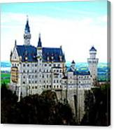 Neuschwanstein Castle  Canvas Print