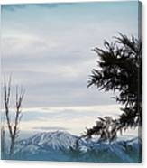 Nevada Blue Canvas Print