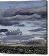 Nevada Blue Skies Canvas Print