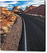 Nevada Highways Canvas Print