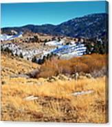 Nevada Landscape Canvas Print
