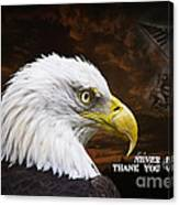 Never Forget - Memorial Day Canvas Print